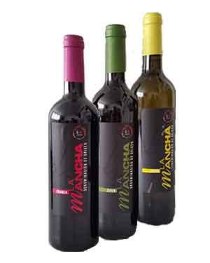 Lote Botellas de Vino DO