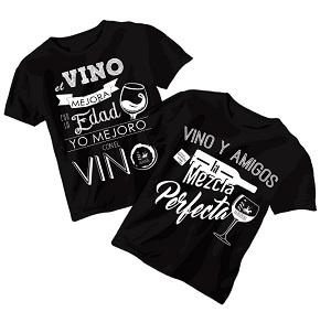 Camisetas Momentos de Vinos