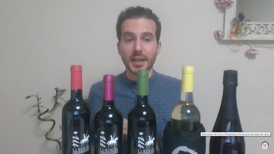 Luis Martínez, temperatura ideal del vino