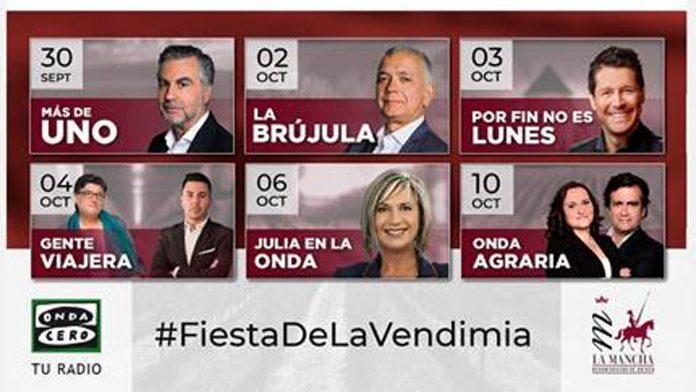Cartel Fiesta de la Vendimia 2020